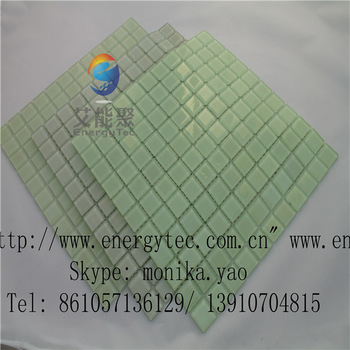 luminuous glow in the Dark Glass Mosaic Tile