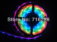 DC5V 100M IP67 Tube 5050 SMD 48 leds/Meter IC Lpd8806 Dream Color Changing Flexible Magic led Strip ribbon Free shipping