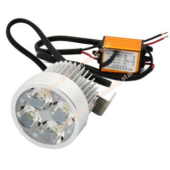 Hot sale ! 12W 12V-80V Super Bright Motorcycle Electrocar LED Light Headlamp B2# 11649