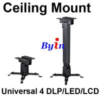 Universal Mini LCD LED DLP Projector Tilt Adjustable Ceiling Mount Bracket 44lb Black