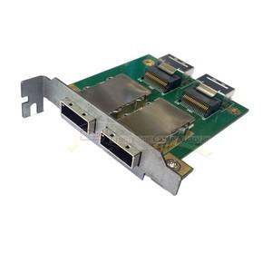 2 Ports PCI SAS Adapter Internal SFF 8087 to Exter 8088 Low Profile Half Height(China (Mainland))