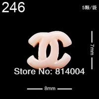 24 MIXED STYLES Free Shipping Wholesale/Nail Supply, 200pcs DIY  star Nails Design/Nail Art, Unique Gift  #246