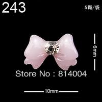 24 MIXED STYLES Free Shipping Wholesale/Nail Supply, 200pcs DIY  star Nails Design/Nail Art, Unique Gift  #243