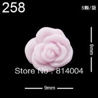22 MIXED STYLES Free Shipping Wholesale/Nail Supply, 200pcs DIY FLOWER Nails Design/Nail Art, Unique Gift  #258