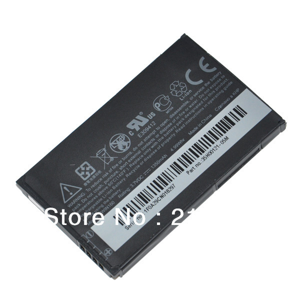 Replacement battery For HTC Google G3 G4 Hero A6262 Hero 100 Tattoo TWIN160 T3333 T5353 T5388 T5399(China (Mainland))