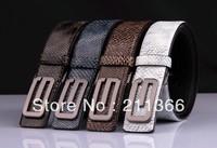 Drop Shipping ! Top Sales Letters Alloy Buckle Women Belts & Genuine Snake skin Leather Belt , the best gift for women
