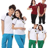 female and male   sports baseball uniform set