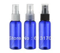 50ml blue spray bottle pet perfume bottle mist spray plastic bottles wholesale Free shipping