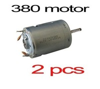 2X RS380 380 Brushed Motor for DIY RC Model Electric Car Airplane Boat