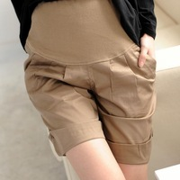 [Fashion Melting Pot] womens maternity  short pants pregnant trousers free shipping