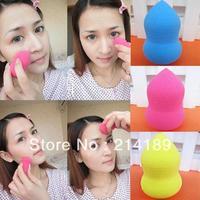 Pro Flawless Beauty Soft Makeup Sponge Blender Blending Foundation Smooth Cosmetic powder Puff Random colors
