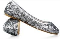 Women's New Casual Glitter Flats Ballet Shoes ballerina shoes for women flats