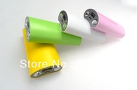 Dropshipping+1pc Full 5000mah A8 power bank portable charger for iphone HTC Samsung cellphone tablet PC MP3 MP4