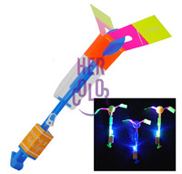 Sling Helicopter Led Arrow Boys Toy Gadget Stocking Filler Gift Blue