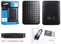 Scandinavian design M3 Portable series 1TB USB 3.0 Black External Hard Drive