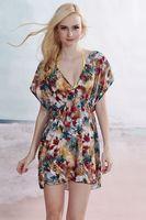 Free shipping wholesale women's dresses new fashion 2013 beach swimwear sexy beach-ups mini dresses B125