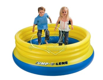 Big circle 48267 intex jumping music trampoline inflatable ball pool toy