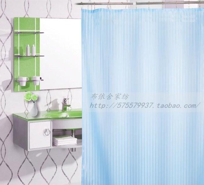 Qualidade início sedas e cetins tarja cortina de chuveiro à prova d ' água(China (Mainland))