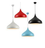 led pendant lamp for coffee bar, home, office, bars. restaurant, shopping mall colorful red, green, yellow singe pendant lamps