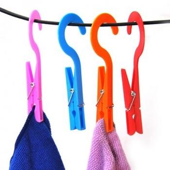 (Min order is $10) Convenient multifunctional belt hook clamp (2)