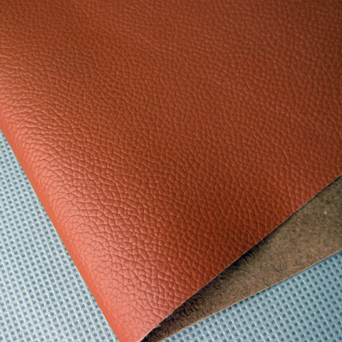Brown cube leather , nubble rectangle leather large leather first layer of cowhide leather fabric diy(China (Mainland))