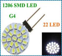 G4 22 1206 SMD LED Light Home Car Marine Boat Lamp Bulb DC 12V White  H9280 1PCS Wholesale