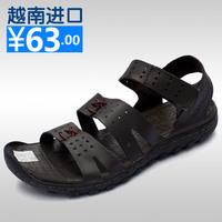 Casual sandals vietnam shoes male sandals fashion male men's sandals sports sandals gladiator shoes