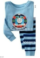 6sets/lot baby wear set 100% conton baby long sleeve pajamas boy's and girl's underwear clothing sets kids clear suits sets A061