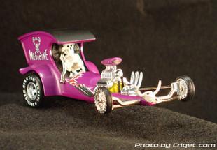 Tom daniel boutique cars bad medicine purple car model
