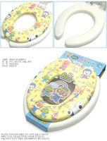 Little penguin child toilet lid double layer dual potty sets toilet mat