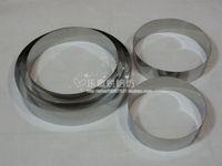 Mousse cake baking mould stainless steel circle 9 mousse ring cake ring cake tools