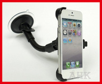 Free shipping Multi Direction Car Windshield Mount Holder Stand for iphone5 5pcs/lot High-quality