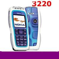 Full set original 3220 original unlocked GSM mobile phone free shipping multi languages