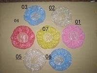 Disposable shower cap plastic shower cap wigs transparent shower cap dust cap 200 bag