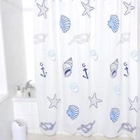 Free shipping Large bathroom waterproof shower curtain