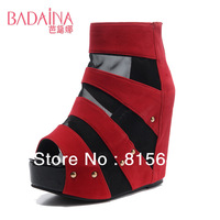 Free Shipping!New Arrived Fashion Women's Summer High-heel Shoes Casual Female Gladiator High Heel Shoes CLSBDN-609