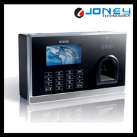 K200 Touch Screen Fingerprint Time Attendance