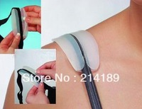Free Shipping 5 pair/lot   Silicone Bra Strap Cushions Non-slip Holder Shoulder Pads Relief Pain Comfort