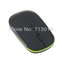 Free shipping Slim USB Wireless 2.4G Mouse Optical Mice for Computer PC
