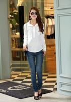 2014 Brand new women summer tops clothing,Ladies fashion slim shirts,women's Top Blouses,free shipping