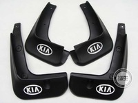 2011-2012 KIA Rio/K2 4dr Soft plastic Mud Flaps Splash Guard  Free shipping