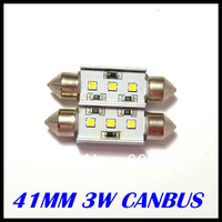 12v led canbus led SAMSUNG Chips 41MM 3w canbus car bulb canbus cree License Plate Light LED car reading light