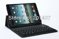 2013 NEW K76s mini three folds silicone rubber case + 3.0 bluetooth keyboard for ipad mini,Free shipping