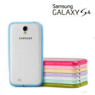 New Arrival 10 Mix Candy Color TPU+PC Cute Cover Case for Samsung Galaxy S4 SIV i9500 Cell Phone Accessories Free shipping