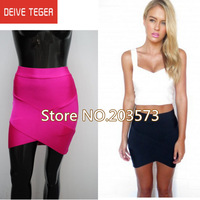 (DEIVE TEGER )free shipping 2013 new bandage women Skirts  8 colors  HL670