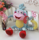 "BOOTS 1pcs  10"" Dora the Explorer The Monkey Plush Dolls Soft Toy Dora plush(China (Mainland))"