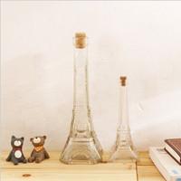 Cork glass bottle props home decoration flower zakka