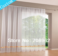 (Custom made curtains) High quality white window screening  Fashion all-match  ribbon screens curtain  customize