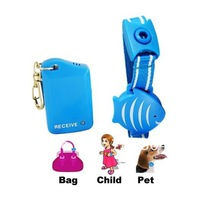Free Shipping,hot selling Fish Wristband Anti Lost Alarm  - For Child, Pet, baggage, Mobile