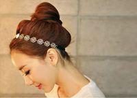 Hollow out roses hair ornament/hair band /Headband free shipping